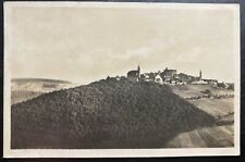 1929 Neckarsteinag Germany Real Picture postcard Cover To Canada
