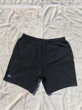 Supreme Lacoste Pique Short (Black) Size Large