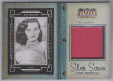 JANE RUSSELL 2015 PANINI AMERICANA SILVER SCREEN MATERIALS 160/499