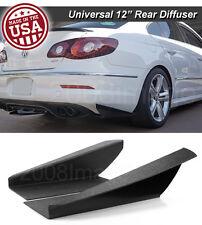 """12"""" Gen 3 Rear Bumper Lip Downforce Apron Splitter Diffuser Canard For Nissan"""