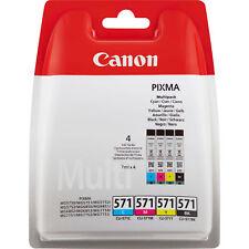 Canon CLI-571 Black, Cyan, Magenta, Yellow Ink Cartridge