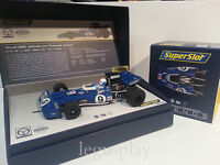 Slot SCX Scalextric Superslot Legends H3759A Tyrrell 002 GP EE.UU 1971 Nº9
