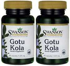 2X Gotu Kola 435mg x 60 ( 120 ) Capsules Swanson -  Anti-Aging - 24HR DISPATCH