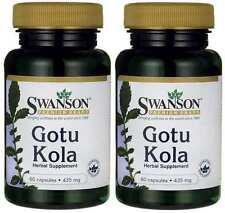 2X Gotu Kola 435mg x 60 ( 120 ) Capsules Swanson -  Anti-Aging - 24HR DISPATCH