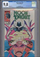 Moon Knight #36 CGC 9.8 1984 Marvel Doctor Strange App: NEW Frame