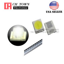 100PCS 2835 White Light SMD SMT LED Diodes Emitting 0.8 Thick Ultra Bright USA