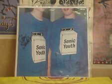 SONIC YOUTH, WASHING MACHINE - AUTOGRAPHED DOUBLE LP DGC2-24825