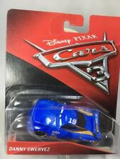 "2017 Disney Pixar CARS 3: ""DANNY SWERVEZ"" #19 OCTANE GAIN Next Gen Race Car"