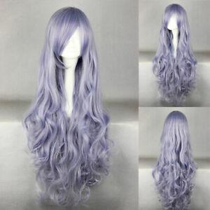 Ladieshair Cosplay Wig Perücke lila 90cm lockig Rozen Maiden Suigintou A7T