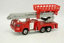 Shinsei Mini Power 1/78 - Simon Snorkel Fire Engine Nacelle Double Pompiers