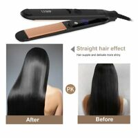 LESHP Flat Iron Hair Straightener with Floating Plate & Elasticity Cool Tip BP