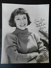 "Imogene Coca Autographed 7 1/4"" X 9"" Photograph from Estate"