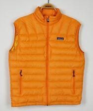 Patagonia Down Sweater Vest Mens M medium orange insulated jacket 84621 $179
