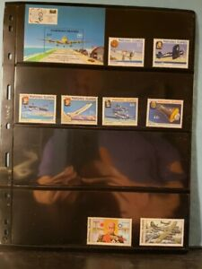 Marshall Island Aircraft & Aviation Stamps Lot of 20 MNH  - See List for Details