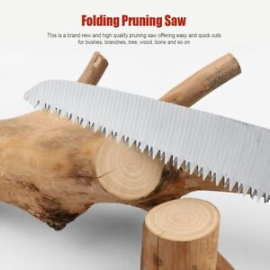 Garden Saw Fast Cut Easy Branch Trimming Pruning Tree Shaping Cutting Tool UK