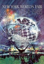 Art ad 1964 Nueva York Feria Mundial cartel impresión