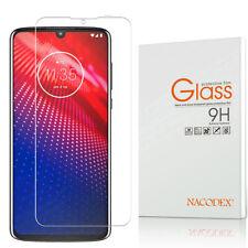 Nacodex For Motorola Moto Z4 Force Tempered Glass Screen Protector