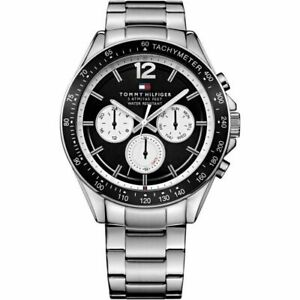 Tommy Hilfiger 1791120 Stainless Steel Tachymeter Men's Chronograph Watch