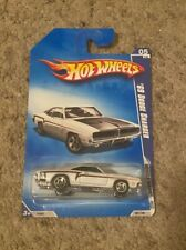 2009 Hot Wheels Muscle Mania- '69 Dodge Charger - Kmart Exclusive White
