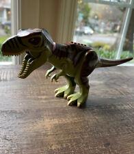 Lego Jurassic Dino Defense HQ Green T-Rex from set #5887 Dinosaur Minifigure