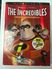 The Incredibles (Dvd, Widescreen) Free Shipping Tested & Working