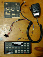 FEDERAL SIGNAL SMARTSIREN PLATINUM SSP3000 CONTROL HEAD WITH MIC AND WIRING HARN