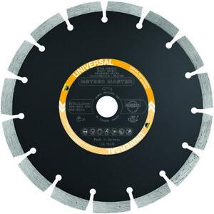 SAMEDIA Diamanttrennscheibe MST230 Universal 16 Segmente Ø 230mm x 22,23 mm