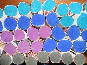"Lot 40 Rolls Vintage Emile Bernat Rug Wool Pre Cut Yarn 500 pc ea 4 1/2"""