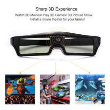 Active Shutter 3D Glasses for Optoma/Acer/BenQ DLP-LINK Projector 3D Home Cinema