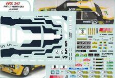 "decal 1/43 FIAT 131 ABARTH 4 ROMBI ""OLIOFIAT"" RALLYE SANREMO 1980   Arena D347C"