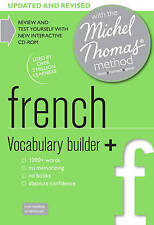 French Vocabulary Builder+ (Learn French with the Michel Thomas Method) by Helene Bird (CD-Audio, 2013)