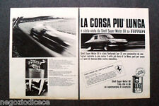 O310 - Advertising Pubblicità - 1967 - SHELL SUPER MOTOR OIL,FERRARI 330 GT,MIRA