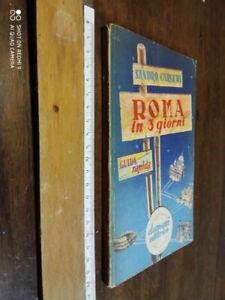 LIBRO: roma in 3 giorni guida pratica carletti sandro - VINTAGE