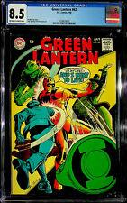 Green Lantern #62 (Jul 1968, DC) - CGC 8.5