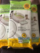 Purina Tidy Cats BREEZE Refill Pack 7 Packs of 4 ct Each Package  Lot Of 28 Pads