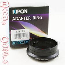 Kipon Contax Rangefinder RF lens to Fujifilm Fuji X-Pro1 E1 M1 FX Mount Adapter