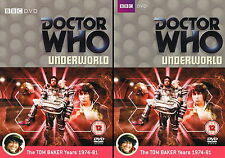 Doctor Who - Underworld - Insert/Original box - Dr Who FREE £2 LOTTERY TICKET