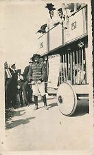 Dompteur Cage Fauves Cirque c. 1940 - aa311