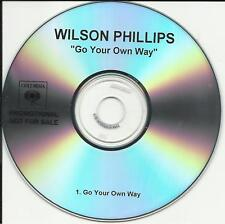 WILSON PHILLIPS Go Your Own TST PRESS PROMO CD Single