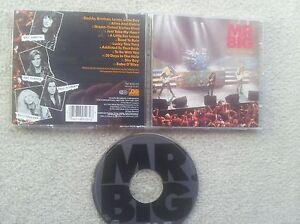 MR.BIG LIVE GERMAN COLLECTORS EDITION CD 1992