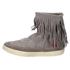 scarpe donna ISHIKAWA 39 sneakers beige camoscio AM662-V