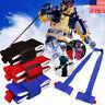 Ski Carrier Holder Carrying Sling Strap Carry Tie Skis Poles Shoulder Handle New