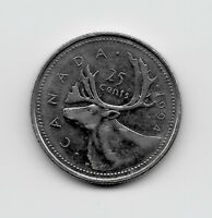 World Coins - Canada 25 Cents 1994 Coin KM# 184