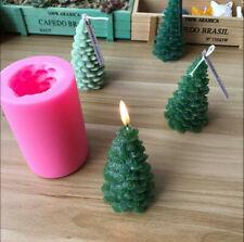 Las bendiciones de Navidad Santa-Hecho A Mano De Silicona Jabones Molde Vela Molde