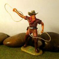 Original Hausser Elastolin 7cm COWBOY/TRAPPER naturgetreu & handbemalt N°6978
