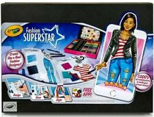Crayola Fashion Superstar Design Clothes Pencils App Art Kit Designer