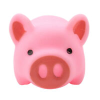10pcs Pink A Little Lemon Rubber Pig Baby Bath Shower Toy for Kid Baby WE