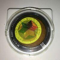 Vintage Walz 301 Yellow Camera Lens Filter 35mm Diameter / Rollei Rolleiflex