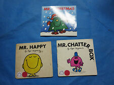 MR. MEN PICTURE BOOKS BY ROGER HARGREAVES; MR. CHATTERBOX, MORE
