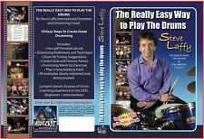 DVD The Really Easy Way To Play The Drums. How to play the drums. An Amazon No.1